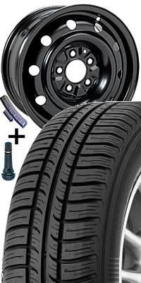 Plech. disk 7755 - 6J x 15 5/112 ET43 57 s pneumatikou Kormoran 195/65 R 15 IMPULSER B 91T