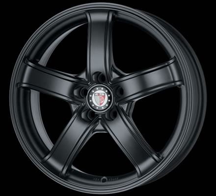 PLATIN P62 FULL BLACK 7J x 16 5/114,3 ET45 72,5