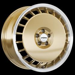 RONAL R50 AERO GOLD 7,5J x 16 5/100 ET38 68 Alu Kola-Disky Celoroční 7Kg