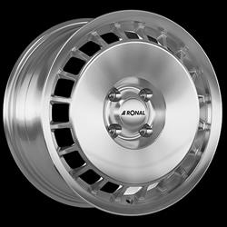 RONAL R50 AERO POLISH 8J x 18 5/100 ET35 68 Alu Kola-Disky Celoroční 17Kg