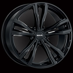 MAK X-MODE GLOSS BLACK 11,5J x 21 5/120 ET38 74,1
