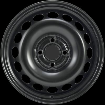 KFZ, MWD, OEM AYGO II 4,5Jx15 4x100 ET35 54 Fe Kola-Disky Celoroční 7Kg